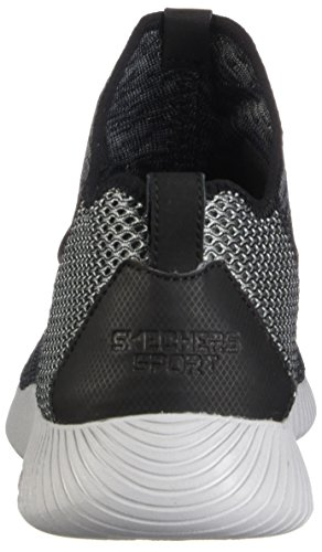 Scarpe Black Stringate 52421 Skechers Gray Uomo 7qz668