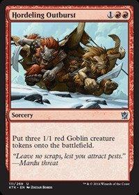 Magic: the Gathering Hordeling Outburst (/269) - Khans of Tarkir