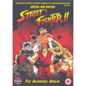 Amazon Com Street Fighter 2 The Animated Movie 1994 Dvd
