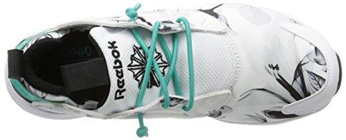 Ladies white 40 Shoes black;gr e Graphic Farbe Reebok Furylite O6Cxfxg