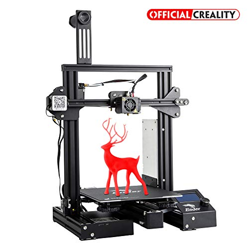 Official Creality Ender 3 Pro 3D Printer with Magnetic Build Surface Plate and UL Certified Power Supply Metal DIY Printers 220x220x250MM ()