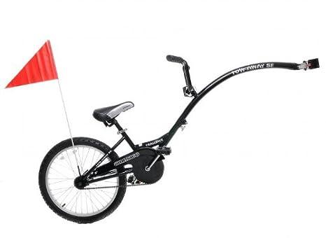 Ammaco Tagalong Rimorchio Tandem Per Bicicletta Per Bambini Da 4 A