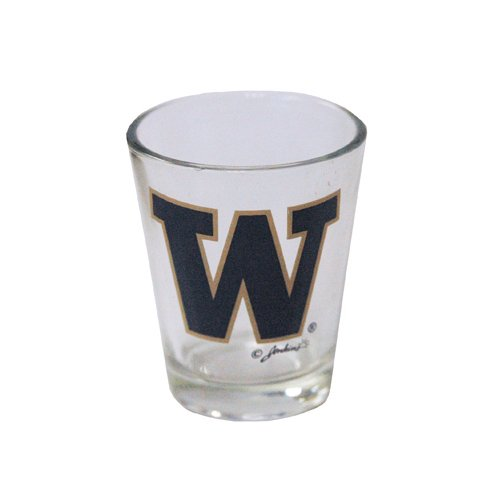 Game Day Outfitters NCAA Washington Huskies Logo Shotglass, One Size, Multicolor