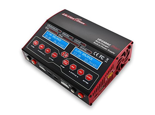 Price comparison product image UP240AC Duo Dual Port (Ch1 20Amps,  Ch2 12Amps,  240Watts Max Total): LiPo,  LiHv,  LiIon,  LiFe,  NiCd,  NiMh,  Pb AC / DC Balancing Battery Multicharger w / Warranty