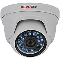 REVO America RGCD24-1C Genesis HD 1080p IP Indoor/Outdoor Dome Surveillance Camera (White)