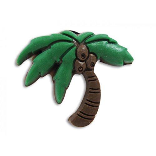 non d/éfinie Pins pour sabot plastique compatible crocs Pinzz palmier