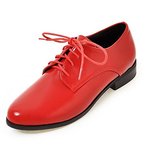 9a80d786 Zanpa Mujer Casual Cordones Bombas Oxford Zapatos Plano Extra Sizes 0-13 En  venta