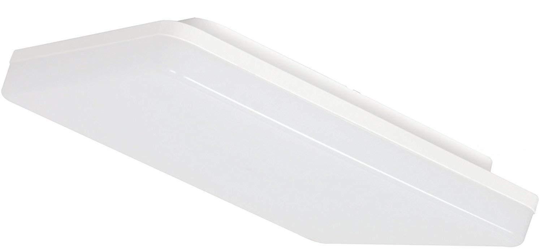Ultraslim LED 24W IP44 Aufbau Panel eckig - 2050lm - Feuchtraum Deckenleuchte 230V - tagesweiß (4000 K) HAVA