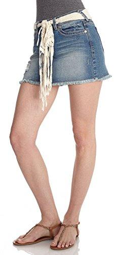 WallFlower Juniors Denim Skirt in Laura Size: 3