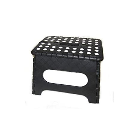 Kikkerland EZ Fold Short Step Stool Black  sc 1 st  Amazon.com & Amazon.com: Kikkerland EZ Fold Short Step Stool Black: Kitchen ... islam-shia.org