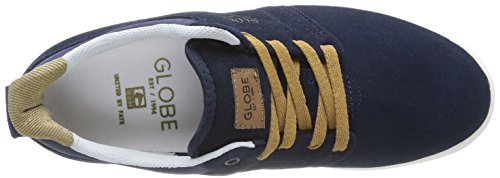 Global Eye Wear Shinto - Zapatillas de skate para hombre Bleu (13001 Navy)