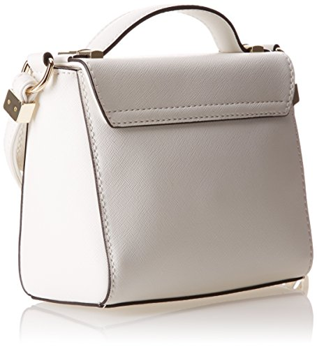Trussardi Jeans Mini Bag, Levanto, Bianco, 16 cm