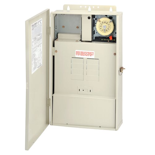 Intermatic T40004RT1 Pool Panel with Transformer 100-Watt by Intermatic