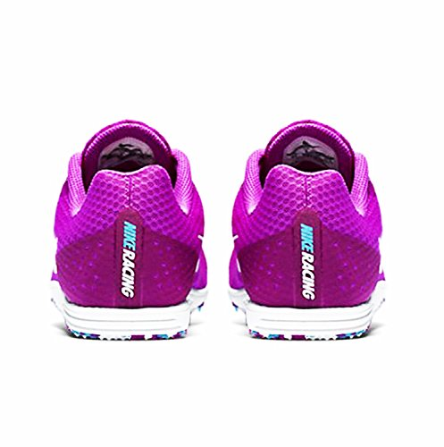 Zapatillas Nike Zoom Rival D Distance Track Spikes Hyper Violet Para Mujer