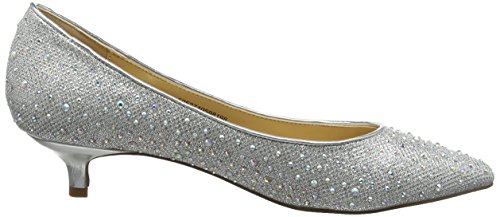 Pinnacle Damen Silver Silber Pumps Slv Lotus Diamante Silber XwPxnq