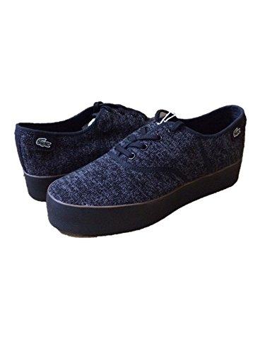 Lacoste Women's Black Platform Sneakers, US 9.5