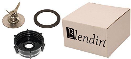 Blendin Ice Crusher Blade with Jar Base Cap, Rubber O Ring Sealing Ring Gasket Combo, Fits Oster Blenders by BLENDIN (Image #6)