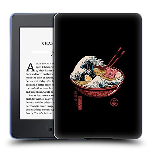 Official Vincent Trinidad Ramen Waves Radical Graphics Soft Gel Case Compatible for Amazon Kindle Paperwhite 3
