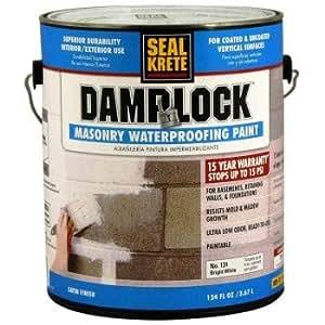 Seal Krete 101001 Damplock Concrete Waterproofing Paint 1