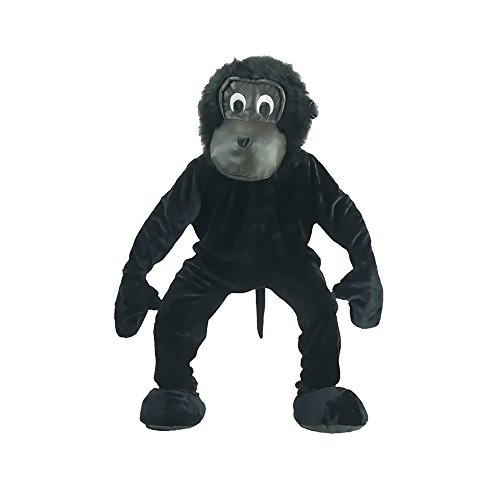 Deluxe Plush Scary Gorilla Mascot Adult Costume