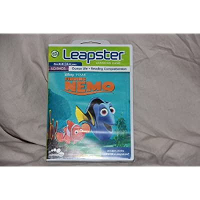 Leapster Finding Nemo Learning Game Works Wiht Leapster 2 & Leapster: Toys & Games