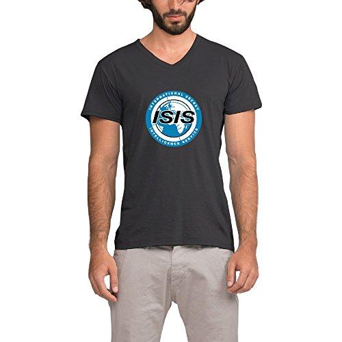 men-archer-isis-logo-black-v-neck-t-shirt