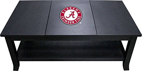 - Imperial Officially Licensed NCAA Furniture: Hardwood Coffee Table, Alabama Crimson Tide