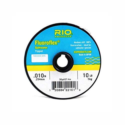 (Rio Saltwater Fluorocarbon Tippet 3 Pack - 10LB,12LB,16LB)