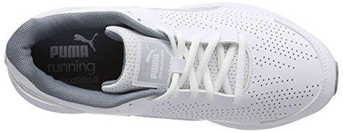 Puma Sequence Sl W - entrenamiento/correr de sintético mujer blanco - White/Puma Silver