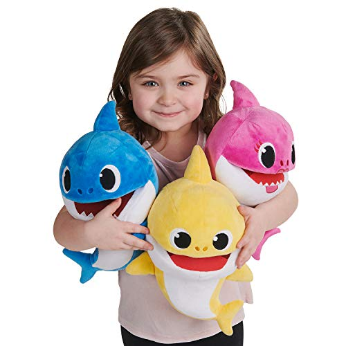 41l0pPpl3hL - WowWee Pinkfong Baby Shark Official Song Puppet with Tempo Control - Baby Shark - Interactive Preschool Plush Toy