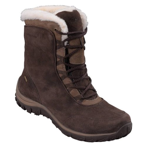 Patagonia Winter Boots - Patagonia Women's Lugano Lace Mid Waterproof Boot,Espresso,9 M US