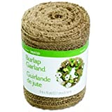 FloraCraft® Burlap Garland, 5 Inches by 10 Yards
