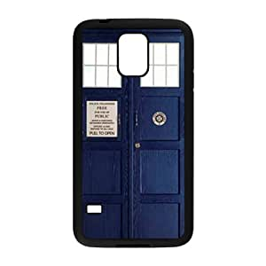 BYEB Police Box Fahionable And Popular Back Case Cover For Samsung Galaxy S5