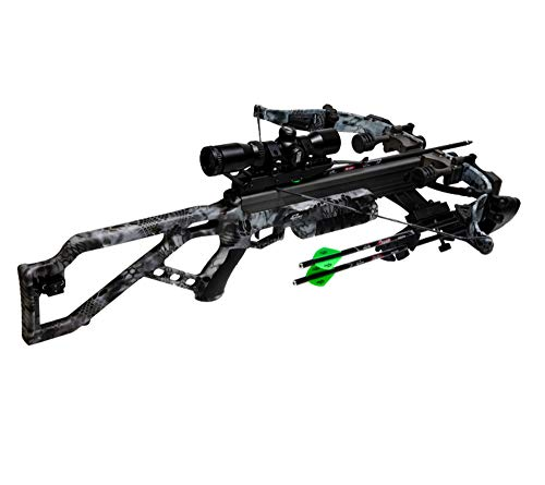 Excalibur Axe 340 Kryptek Raid with SDS & Air Brakes Recurve Crossbow Package #E74132
