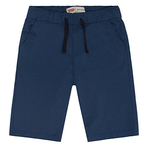 Knit Boys Shorts (Levi's Boys' Cruz Knit Shorts, Ensign Blue, Small)