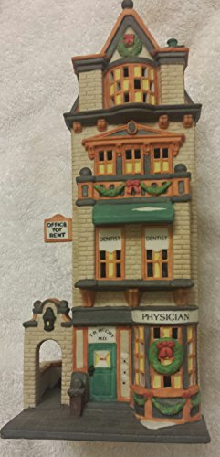 Dept 56 Christmas In The City   The Doctors Office    55441