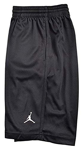 b9b5a86de46e88 ... from size Medium. Jordan Boys  (8-20) Nike Air Jumpman Basketball Shorts -Black-Large