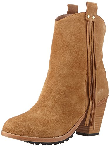 Australia Luxe Collective EVE - botas de caño bajo de cuero mujer marrón - Braun (CHESTNUT SUEDE)