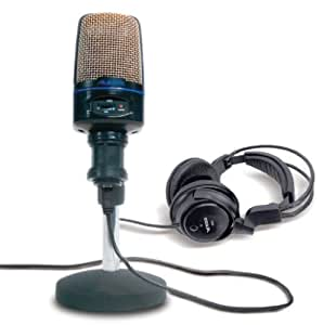 Alesis USB Microphone Podcasting Kit with Headphones and Software