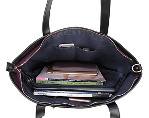 Tote Women Purple Handbags Navy Travel for ENKNIGHT bag Bag Shoulder Nylon Waterproof 4xUaqxw