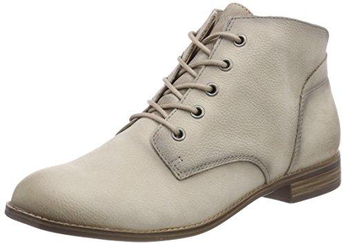 Tamaris Women's 25100 Combat Boots Grey (Stone)