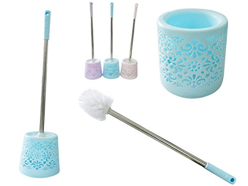 Toilet Brush With Holder Size: 5.25'' Dia x 21'' L , Case of 48