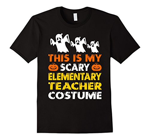 Mens This is My Scary Elementary Teacher Costume Halloween shirt 2XL Black - Elementary Teacher Halloween Costumes