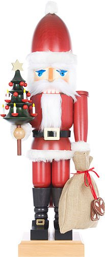 German Christmas Nutcracker Santa Claus - 80,0cm / 31.5inch - Christian Ulbricht by Christian Ulbricht