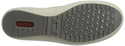 Rieker M6003, Zapatillas para Mujer Beige (Nude / 63)