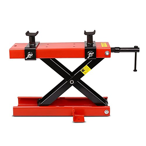 Motorbike Motorcycle jack lift scissor jack lift ConStands Mini red