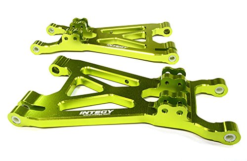 Integy RC Model Hop-ups T6999GREEN Lower Suspension Arms for Savage XL, Flux & X 4.6 RTR (Arms Savage Lower)