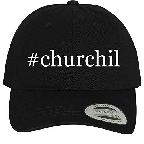 BH Cool Designs #Churchil - Comfortable Dad Hat Baseball Cap, Black (Gloves Churchill Classic)