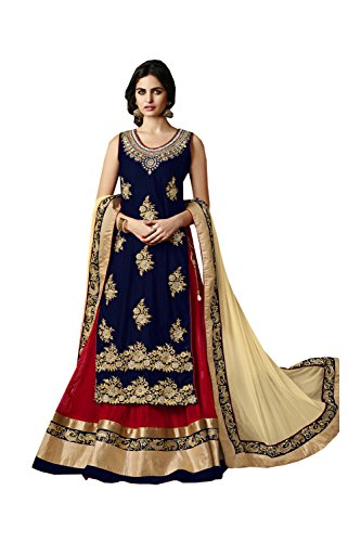PCC Indian Women Designer Wedding neavy blue Lehenga Choli K-4529-39528