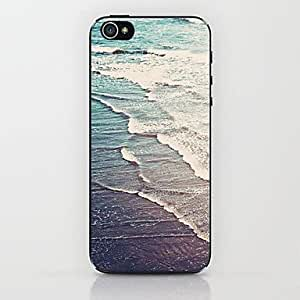 GJY Blue Beach Pattern Hard Case for iPhone 5/5S
